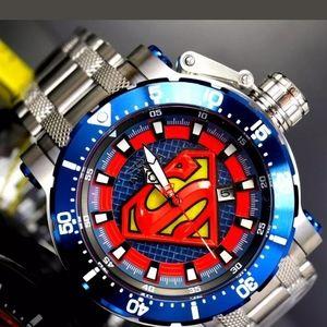 1 LEFT IN STOCK-New Invicta superman men's watch